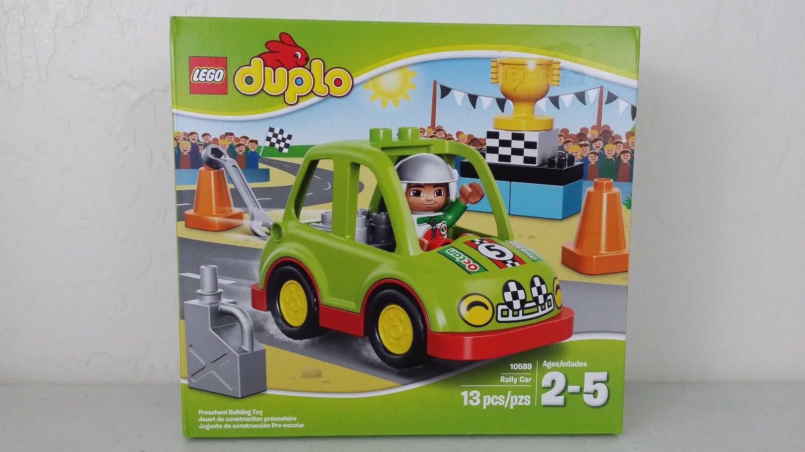 Lego duplo - rallye - 13 auto bild 13 - pcs spielzeug kinder 10589 neue kiste versiegelt 3379fa