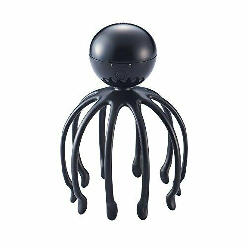 Sonic Head Spa massager ALILAN octopus Alien  for women Black w/Tracking