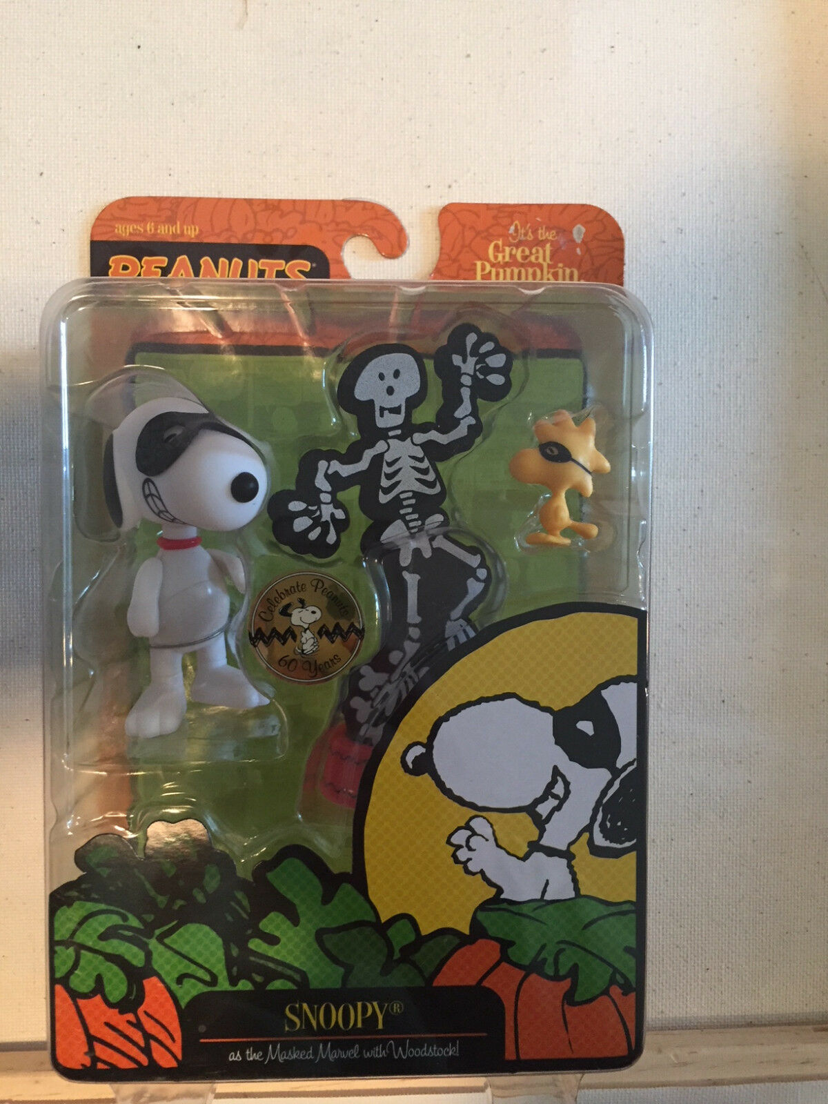 Its The Great Pumpkin Charlie Brown Brown Brown Snoopy Masked Marvel Set Brand New 2009 28a7b6