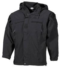 US PCU Protective Level 5 Combat Soft Shell Jacke coat black schwarz L / Large