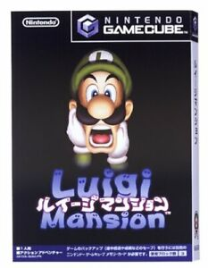 USED-Gamecube-Gamecube-Luigi-039-s-Mansion