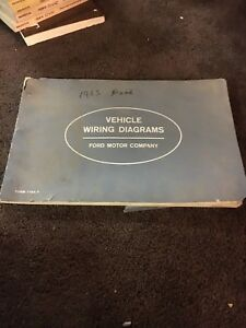 original 1963 Ford all models wiring diagrams Econoline ...