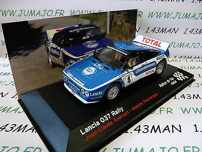 voiture 1/43 IXO altaya Rallye Champion France LANCIA 037 RALLY 1984 Var Andruet