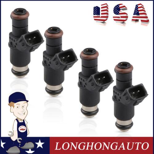 Pack of 4 High impedance Fuel Injectors For 06-11 Honda Civic 1.3L 1.8L 2.0L