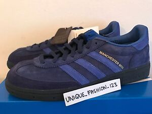 separation shoes 7efd9 d0cc6 Image is loading ADIDAS-MANCHESTER-MARINE-OI-POLLOI-UK-6-7-