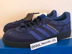 separation shoes 9fab7 bc8ed Image is loading ADIDAS-MANCHESTER-MARINE-OI-POLLOI-UK-6-7-