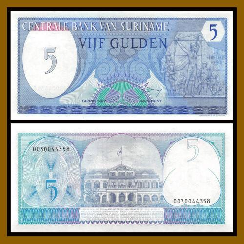 Suriname 5 Gulden 1982 P-125 Unc