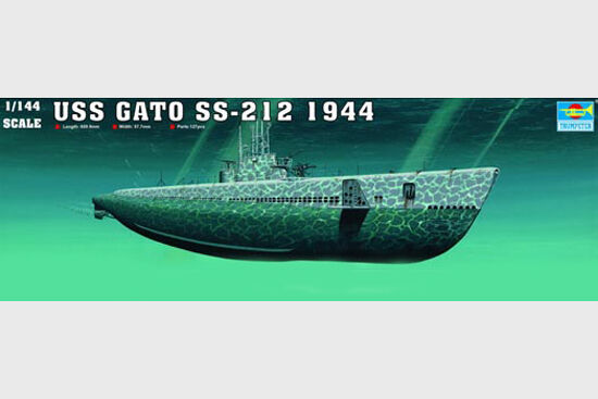 Trumpeter 1 144 USS Gato SS-212 1944