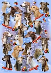 Greyhound-Dog-Christmas-Wrapping-Paper-By-Starprint-Auto-combined-postage