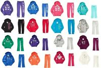 Aeropostale Ps Kids Zip Up Hoodie Sweatshirt And Sweatpant Outfit Lot Sets
