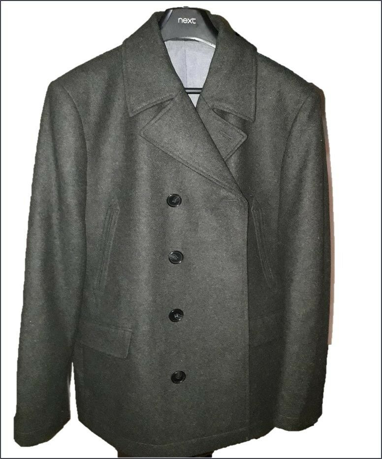 43ef0f2041ce Charcoal Grey Wool Trench Coat Men s Extra Large Next Winter ...