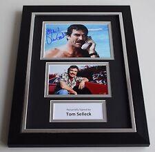 Tom Selleck Signed A4 FRAMED photo Autograph display Magnum AFTAL COA