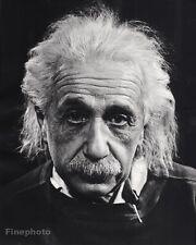 1947 Vintage ALBERT EINSTEIN Physics Science Photo Art 16x20 By PHILIPPE HALSMAN