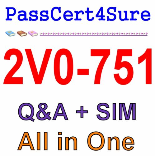 VMware Certified Professional 7 - Desktop and Mobility 2V0-751 Exam Q&A PDF+SIM