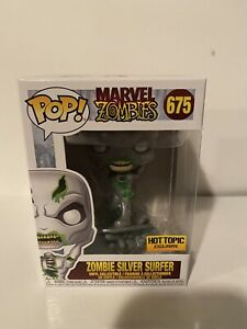 Funko-POP-Marvel-Zombies-ZOMBIE-SILVER-SURFER-675-Hot-Topic-Exclusive-Figure