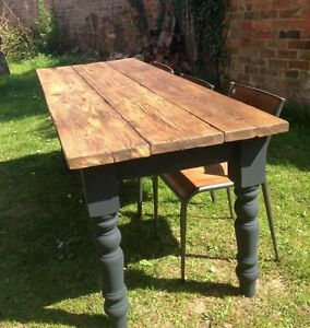 Rustic-Dining-Table-reclaimed-made-to-order-measure-refectory-kitchen-3-planks