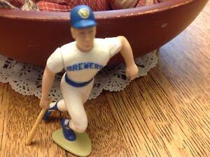 1989 B J Surhoff W / Carte Baseball Milwaukee Brewers à partir Lineup Slu en vrac