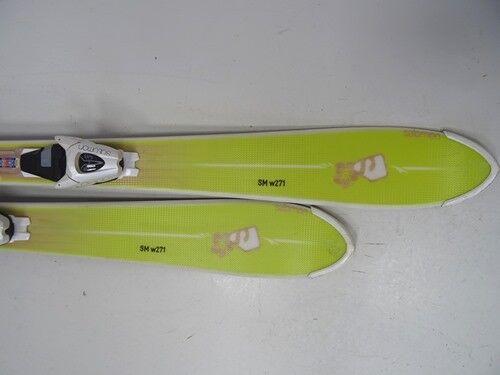 Ski Carving Salomon BBR Limelite mit Bindung,140cm (EE1028) guter Zustand