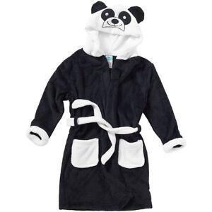 Animal-Fou-Enfants-Garcons-Filles-Panda-Peignoir-Robe-de-chambre-laine-polaire