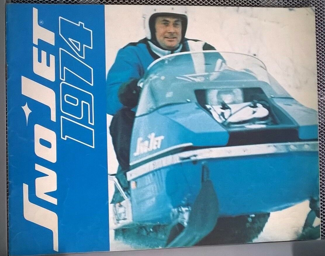 74 Snow Jet  sales brochure