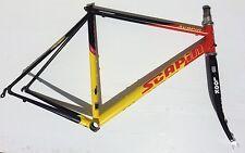 Telaio bici corsa acciaio Scapin Team Look carbon steel road bike frame Columbus