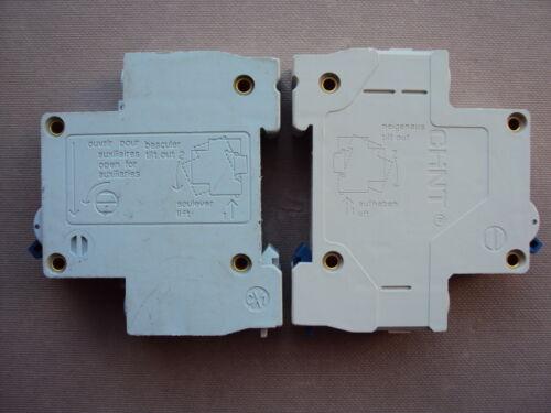 CHINT /& CPN RANGE MCB MD106B B6 6A eBG B20 20A B32 32A TYPE B 6000 BREAKER TRIP