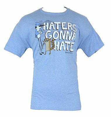 Regular Show Cartoon Network Haters Gonna Hate - New T-Shirt Men's XS S M L XL