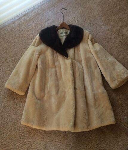 Vintage I Magnin Custom Beaver Coat - image 1