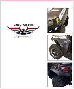Direction 2 Overfenders Polaris Ranger Rzr 800 Le Eps Le Rzr4000 Ebay