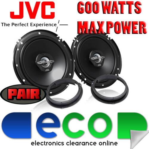 Ford Focus MK3 2011-14 JVC 17cm 6.5 Inch 600 Watts 2 Way Front Door Car Speakers