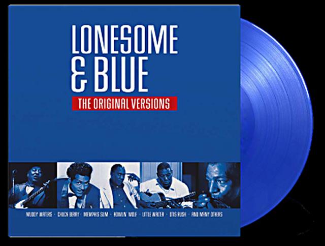 VARIOUS  LONESOME & BLUE – THE ORIGINAL VERSIONS  Ltd. Blue Vinyl LP DMM  SEALED