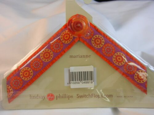 Lindsay Phillips Swtichflops Straps Marianne Small NEW