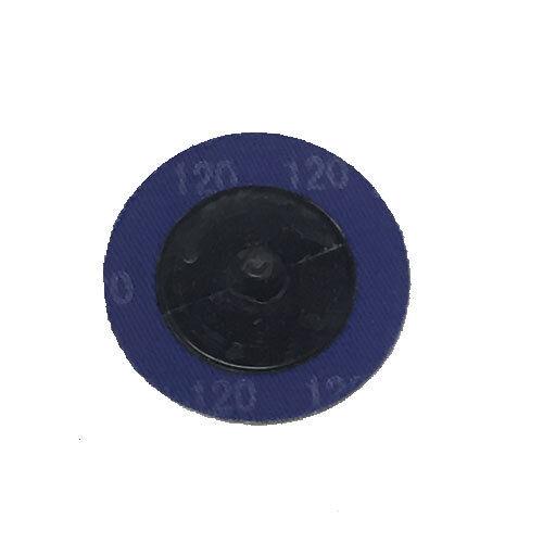 """200-2/"""" Roloc Zirconia Quick Change Sanding Disc120 Grit and Mandrel Disc Holder"""