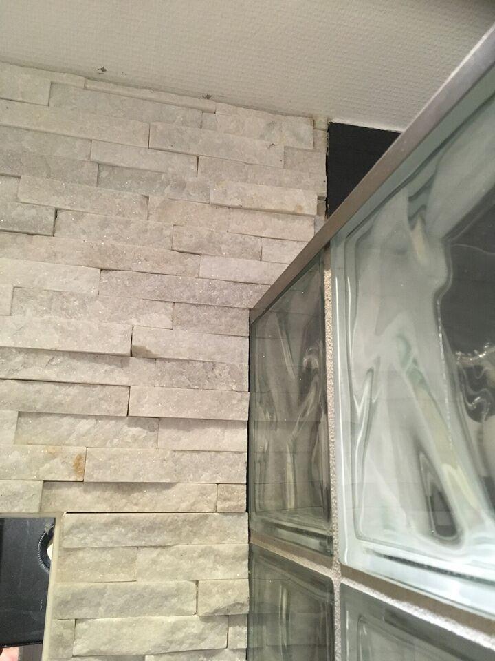 Natur sten til væg