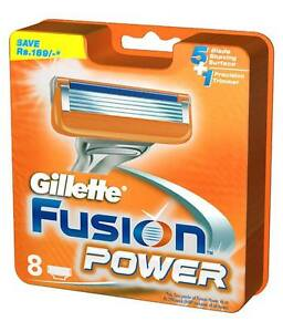 Gillette-Fusion-Power-Blades-8-Pack-100-GENUINE-UK-Fast-Delivery