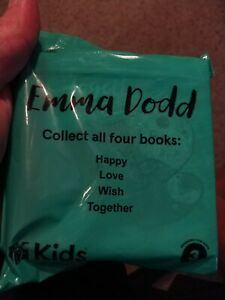 Chick-fil-A Kids Meal Toy Emma Dodd Baby Toddler Board Book Together New Sealed