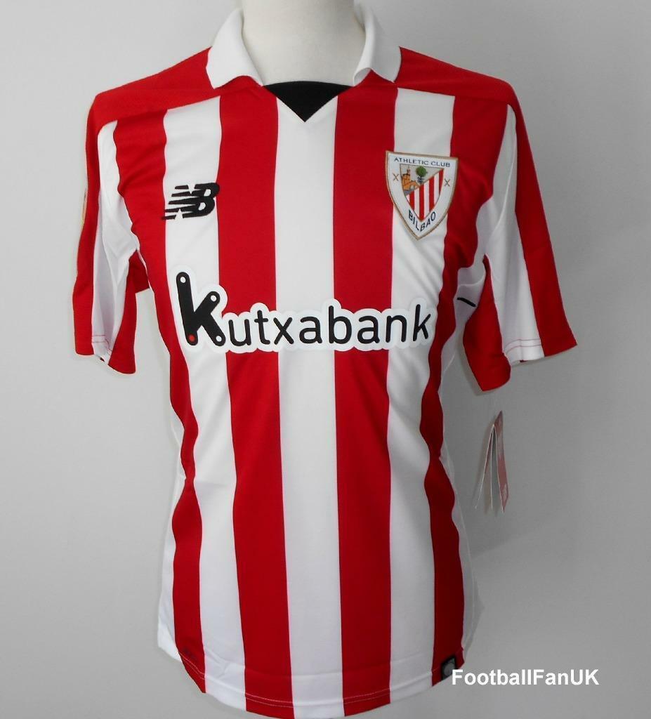 Atletico Bilbao Nb Casa Calcio Camicia 20172018 nuovo da Uomo Maglia Camiseta