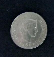 """Münze 10 Rappen Schweizer Franken 1964 """"B"""" aus Umlauf gültiges Zahlungsmittel"""