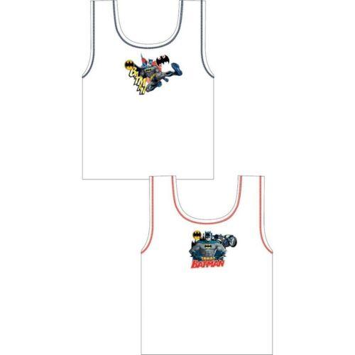 Garçons Enfants Pack 2 personnage gilets Paw Patrol Mickey Mouse Blanc 100/% coton Bing