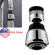 360 Rotate Stainless Swivel Faucet Nozzle Torneira Water Filter Adapter Water US