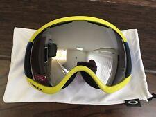 Oakley Canopy Retina Blue Prizm Black Iridium Ski Snowboard Goggles Asian Fit & Oakley Canopy Prizm JP Auclair Signature Series Snow Goggles Asian ...