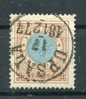 Briefmarken Schweden 26 A Zentrisch Gestempelt .......................................2/1051 Starke Verpackung Europa
