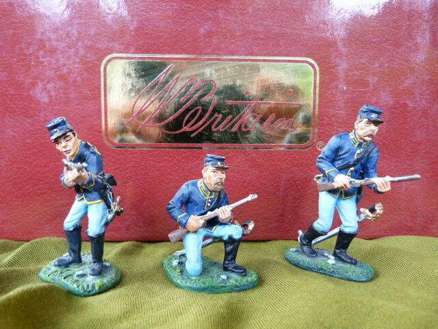 Soldat de plomb country ref. 17429 - acw - guerre de s é cession - union.