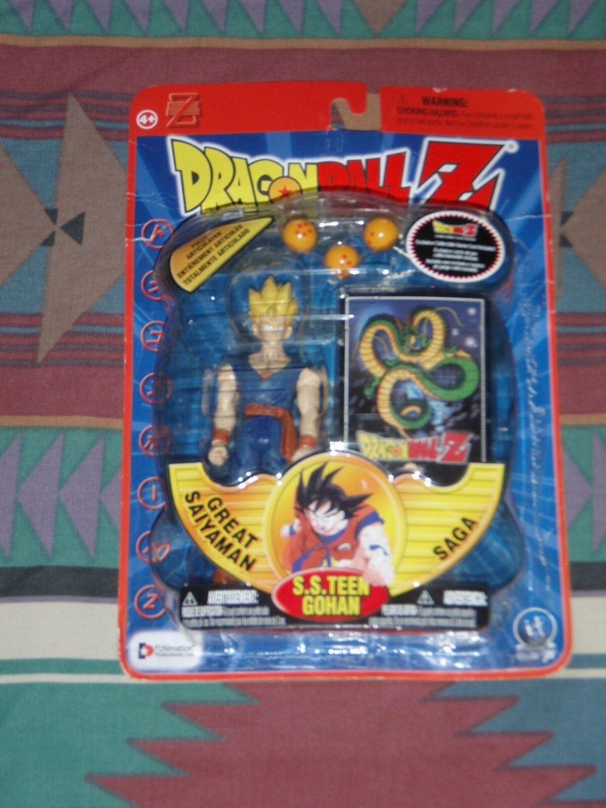 Irwin Dragon Ball Z Action Figure  SS Teen Gohan