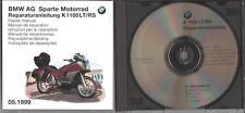 BMW K1100RS K1100LT REPAIR MANUAL CD BMW Part Nr 01790007045 Reparaturanleitung