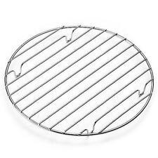 """10"""" CHROME ROUND COOLING RACK BAKING OVEN COOKING CAKE MUFFIN PIE FLAN BAKEWARE"""