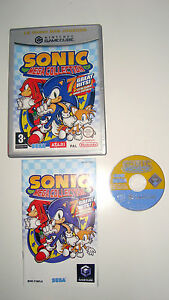 JEU-NINTENDO-GAME-CUBE-WII-SONIC-MEGA-COLLECTION-7-GAMES