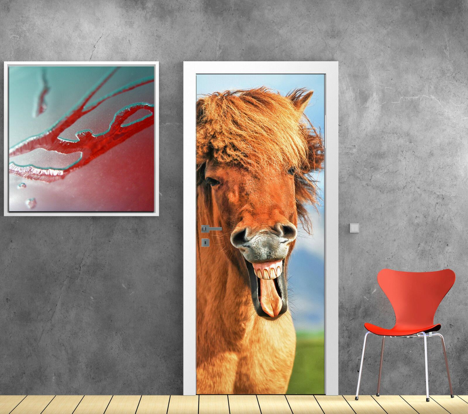 Adhesivo mane para puertas caballo bonito mane Adhesivo ref 850 b98d02