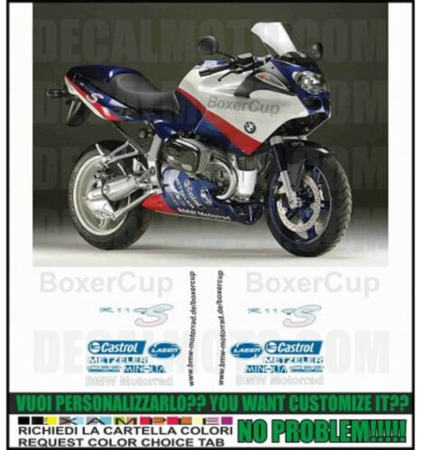 set aufkleber kompatibel R1100 S 2003  2004 BOXER CUP REPLICA