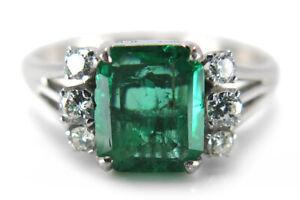 Ring-Smaragd-Diamanten-Wesselton-vs-585-Weissgold-BRORS-15076